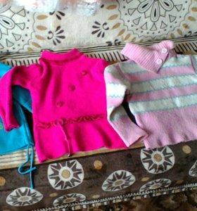 Одежда для девочки 2-5лет