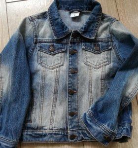 Новая джинсовая курточка Sela