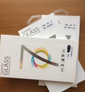 4D защитное стекло iPhone 7