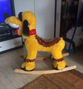 Собака-качалка