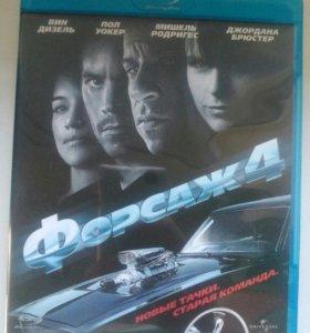 Blu-ray Форсаж 4