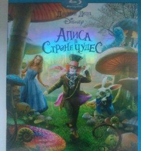Blu-ray Алиса в стране чудес