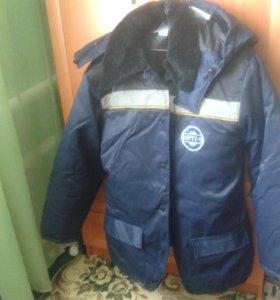 Куртка зимняя рабочая размер 54