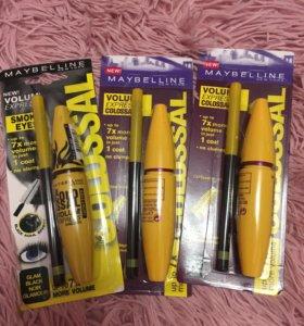Набор 2в1 тушь и карандаш для глаз