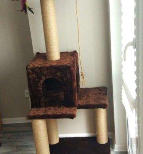 Домик (когтеточка) для кошки
