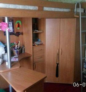 Стенка-кровать,шкаф,стол