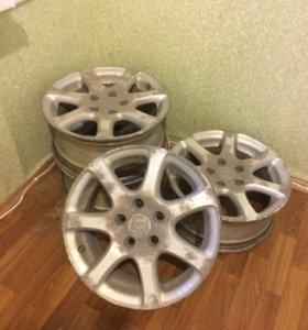 Комплект дисков от Хонда, 16 радиус