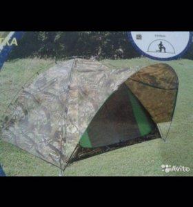 Палатка трехместная и четырехместная, новая