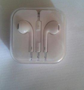 Наушники на apple s6