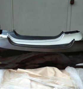 Задний бампер Hyundai Solaris 11-14г
