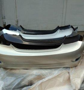 Задний бампер Hyundai Solaris 14-17г.