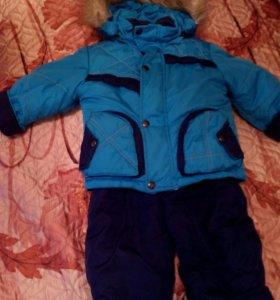 Детский зимний костюм 86рост