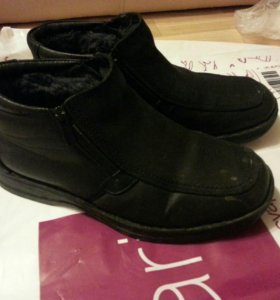 обувь натур мех кожа