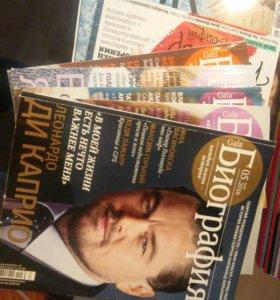 журналы биография