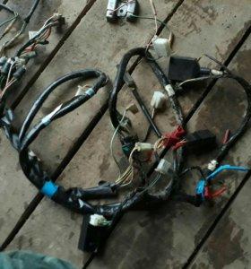 Проводка для скутера