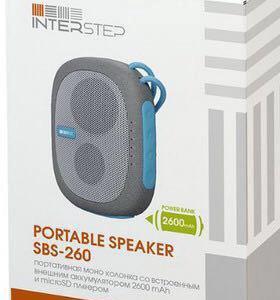 Bluetooth колонка Interstep SBS 260