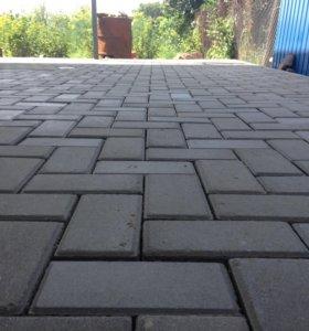 Тротуарная плитка 100x200x60