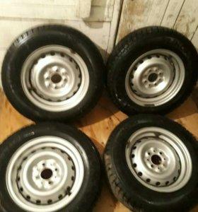 Комплект колес R13 зима
