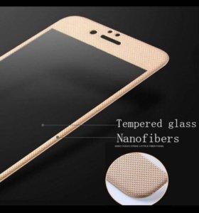 Защитное 3D стекло iphone 6