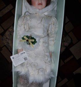 Кукла керамика 56см