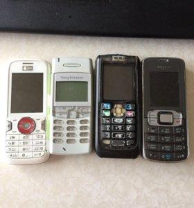 Старые б/у телефоны