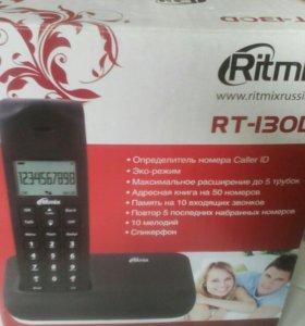 Беспроводной телефон новый