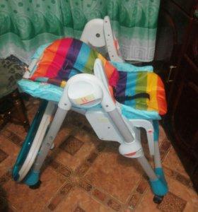 Продам стульчик chicco polly