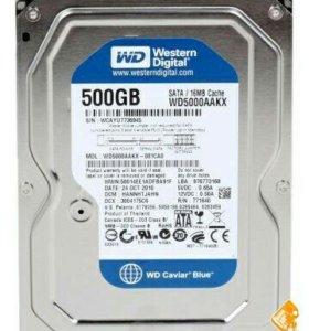 Жесткий диск 3.5 Western Digital Blue 500Gb