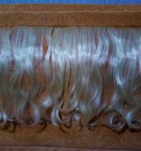 Накладные пряди для удлинения волос
