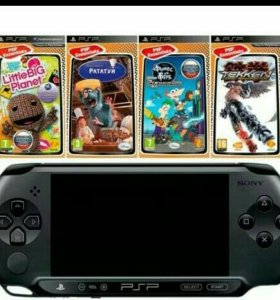 Сууперр приставка PSPи 18 игр