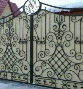Ворота. Художественная ковка
