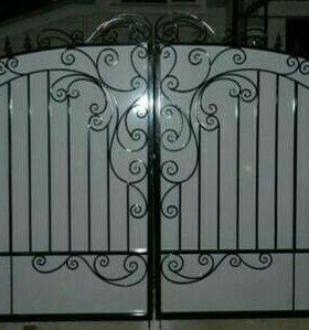 Красивые ворота