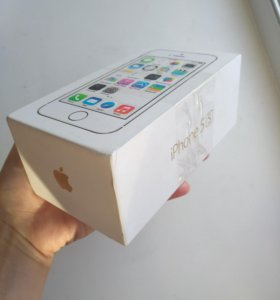 Коробка iPhone 5s gold 16g