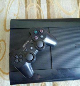 Playstation 3 super slim 500gb psplus +23 игры