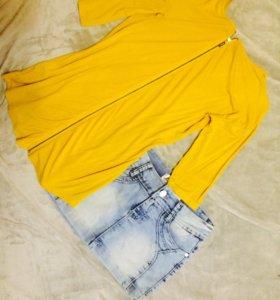 Комплект кофта + юбка