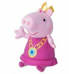 """Peppa Pig Мягкая игрушка """"Свинка Пеппа"""", 2 вида"""