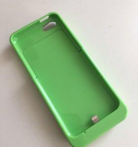Чехол-зарядка для iPhone 5, 5s.
