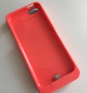 Чехол-батарея. Для iPhone 5, 5s.