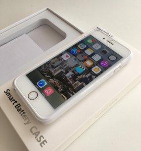 Чехол-зарядка для iPhone 6,6s,7
