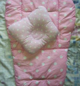 Матрасик+подушка