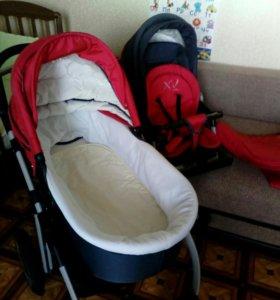 Детская коляска 2 в 1 Хепич Окси