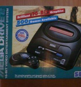 SEGA Mega Drive II Green