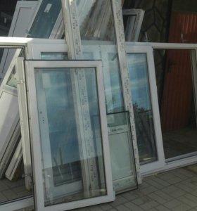 Ветражи металлопластиковые (окна)
