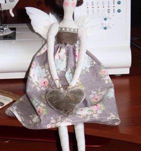 Tilda винтажный ангел