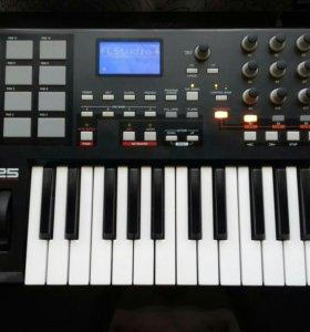 Миди контроллер Akai mpk25