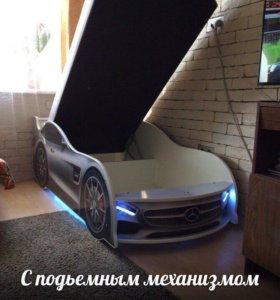 Детская кровать-машинка от производителя