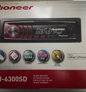 Магнитола Pioneer DEH-6300SD