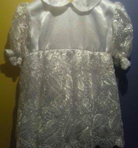 Праздничное платьице