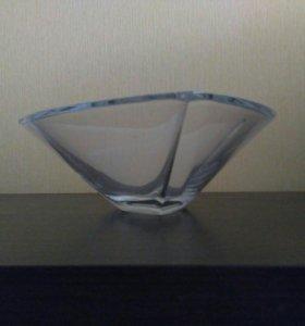 Ваза богемского стекла