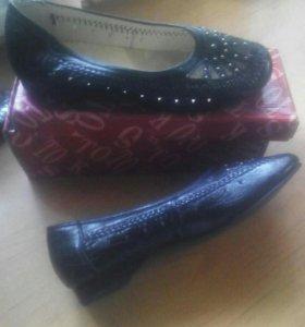 Туфли женские новые.39-40разм.
